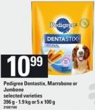 Pedigree Dentastix - Marrobone Or Jumbone - 396 G-1.9 Kg or 5 X 100 g