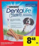 Purina Dentalife Chews - 439-595 g