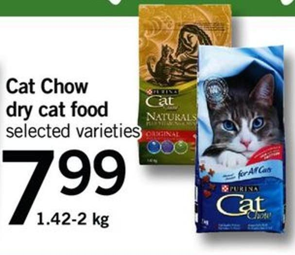 Cat Chow Dry Cat Food - 1.42-2 Kg
