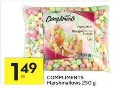 Compliments Marshmallows