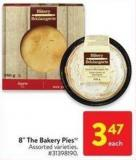 8in The Bakery Pies