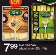 Fresh Filled Pasta - 500g – 700g