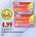 Option+ Children's Acetaminophen 20