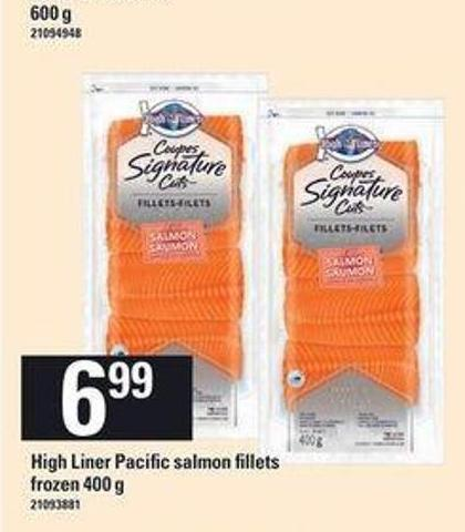 High Liner Pacific Salmon Fillets - 400 G