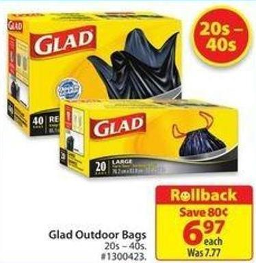 Glad Outdoor Bags