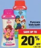 Funcare Kids Bath