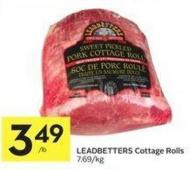 Leadbetters Cottage Rolls