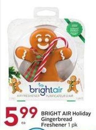 Bright Air Holiday Gingerbread Freshener 1 Pk