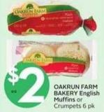 Oakrun Farm Bakery English Muffins
