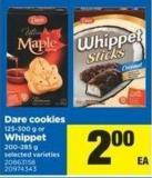 Dare Cookies - 125-300 g Or Whippet - 200-285 g