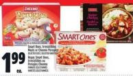 Smart Ones - Irresistibles Meals Or Cheemo Perogies