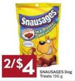 Snausages Dog Treats - 196 g