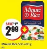 Minute Rice 500-600 g