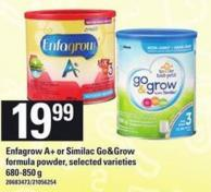 Enfagrow A+ Or Similac Go&grow Formula Powder - 680-850 G