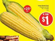 Loose Sweet Corn Product of USA No. 1 Grade