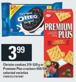 Christie Cookies 379-520 G Or Premium Plus Crackers 450/500 G