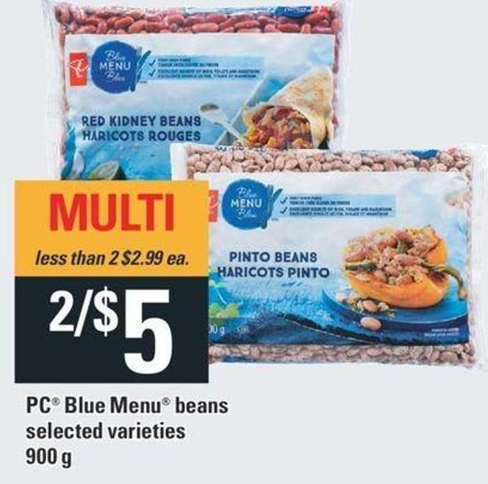 PC Blue Menu Beans - 900 g