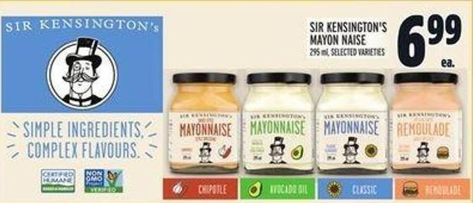 Sir Kensington's Mayon Naise