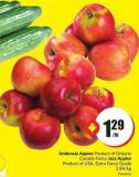 Ambrosia Apples Product of Ontario Canada Fancy Jazz Apples Product of USA - Extra Fancy Grade 2.84/kg