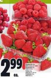 Strawberries 454 G Product Of U.S.A. - No. 1 Grade Raspberries 170 G Product Of U.S.A.