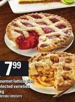 Gourmet Lattice Pies - 1 Kg