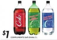 Compliments Soft Drinks 2 L