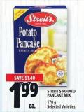Streit's Potato Pancake Mix 170 g