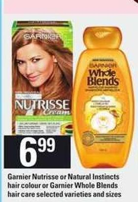 Garnier Nutrisse Or Natural Instincts Hair Colour - Or Garnier Whole Blends Hair Care