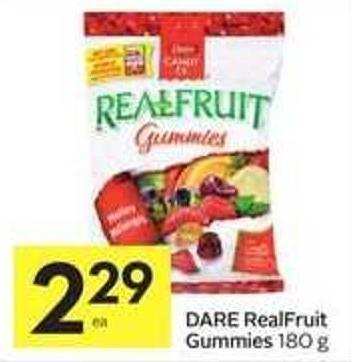 Dare Realfruit Gummies