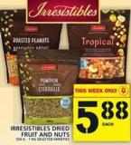 Irresistibles Dried Fruit And Nuts 550 G - 1 Kg