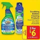Scrubbing Bubbles Cleaning Products