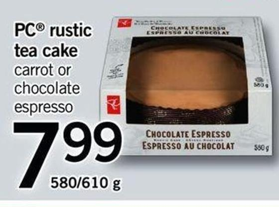 PC Rustic Tea Cake - 580/610 G