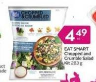Eat Smart Chopped and Crumble Salad