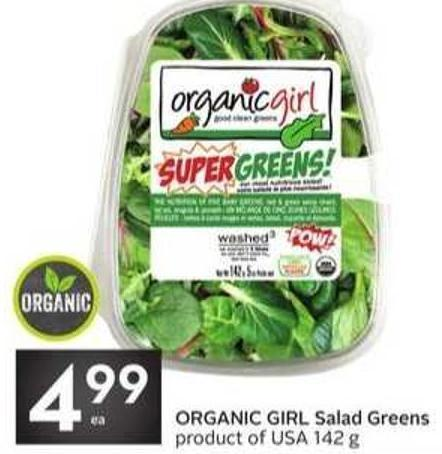 Organic Girl Salad Greens