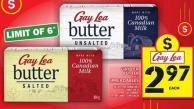 Gay Lea Butter Or Spreadables