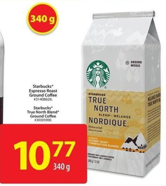 Starbucks True North Blend Ground Coffee