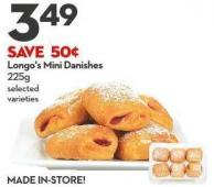 Longo's Mini Danishes  225g