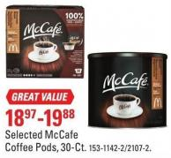 Selected Mccafe Coffee Pods - 30-ct