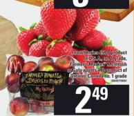 Strawberries 454 G - Farmer's Market Mcintosh Or Gala Apples 4 Lb