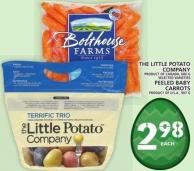The Little Potato Company Or Peeled Baby Carrots