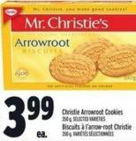 Christie Arrowroot Cookies 350 g