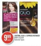 Casting - Olia or Express Retouch Hair Colour