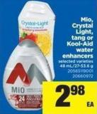 Mio - Crystal Light - Tang Or Kool-aid Water Enhancers - 48 Ml/27-53.6 g