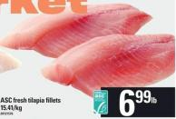 Asc Fresh Tilapia Fillets