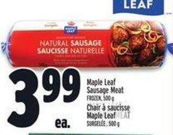 Maple Leaf Sausage Meat