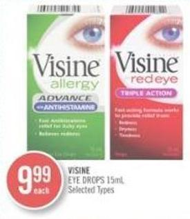 Visine Eye Drops 15ml