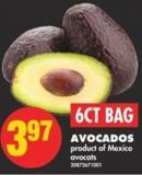 Avocados - 6ct Bag