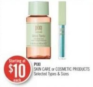 Pixi Skin Care or Cosmetic Products