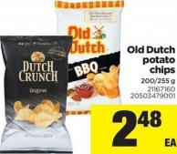 Old Dutch Potato Chips - 200/255 g