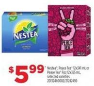 Nestea - Peace Tea - 12x341 Ml Or Peace Tea Fizz - 12x355 Ml